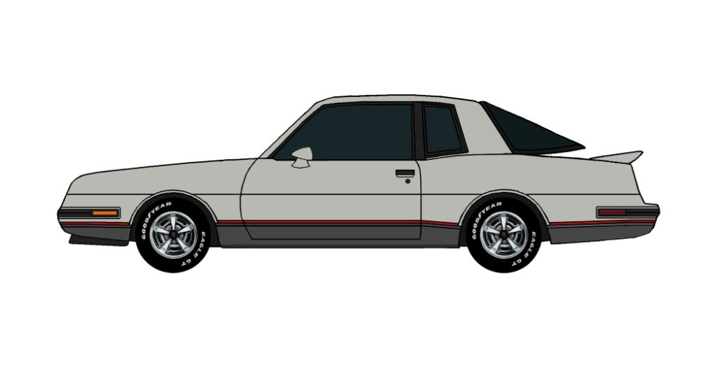 1986 Pontiac Grand Prix 2+2 ORIGINAL GREY