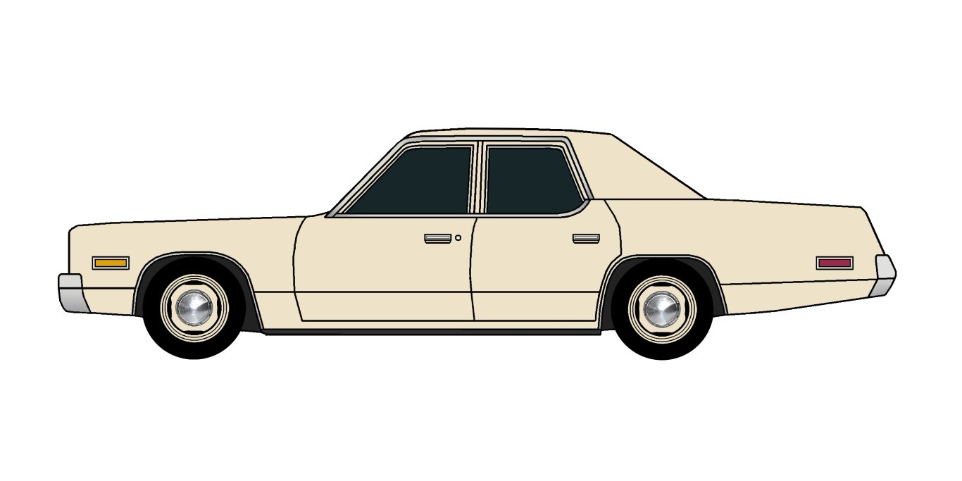 1974 Plymouth Fury BEIGE