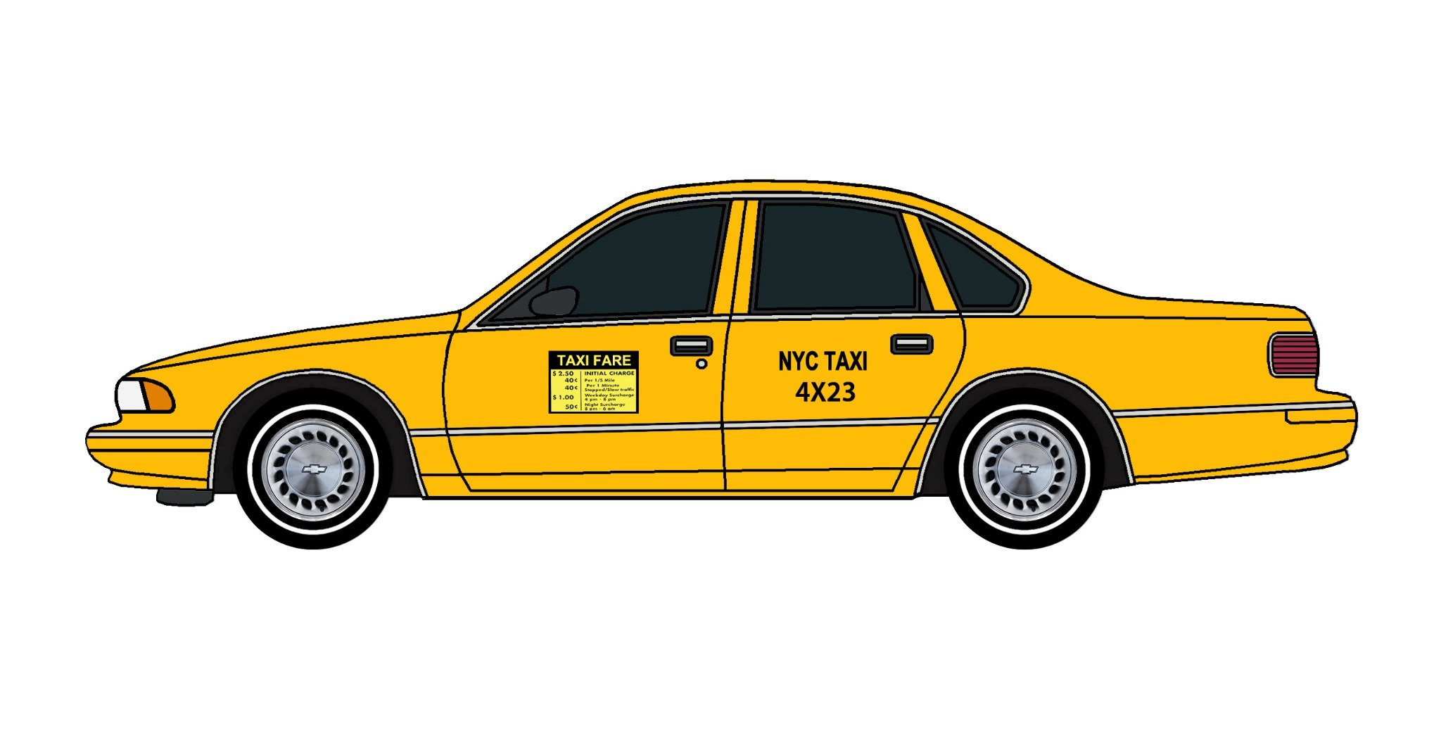 1996 Chevy Caprice NYC TAXI