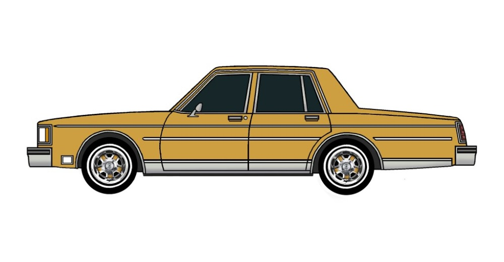 1983 Oldsmobile Delta 88 INDIAN YELLOW