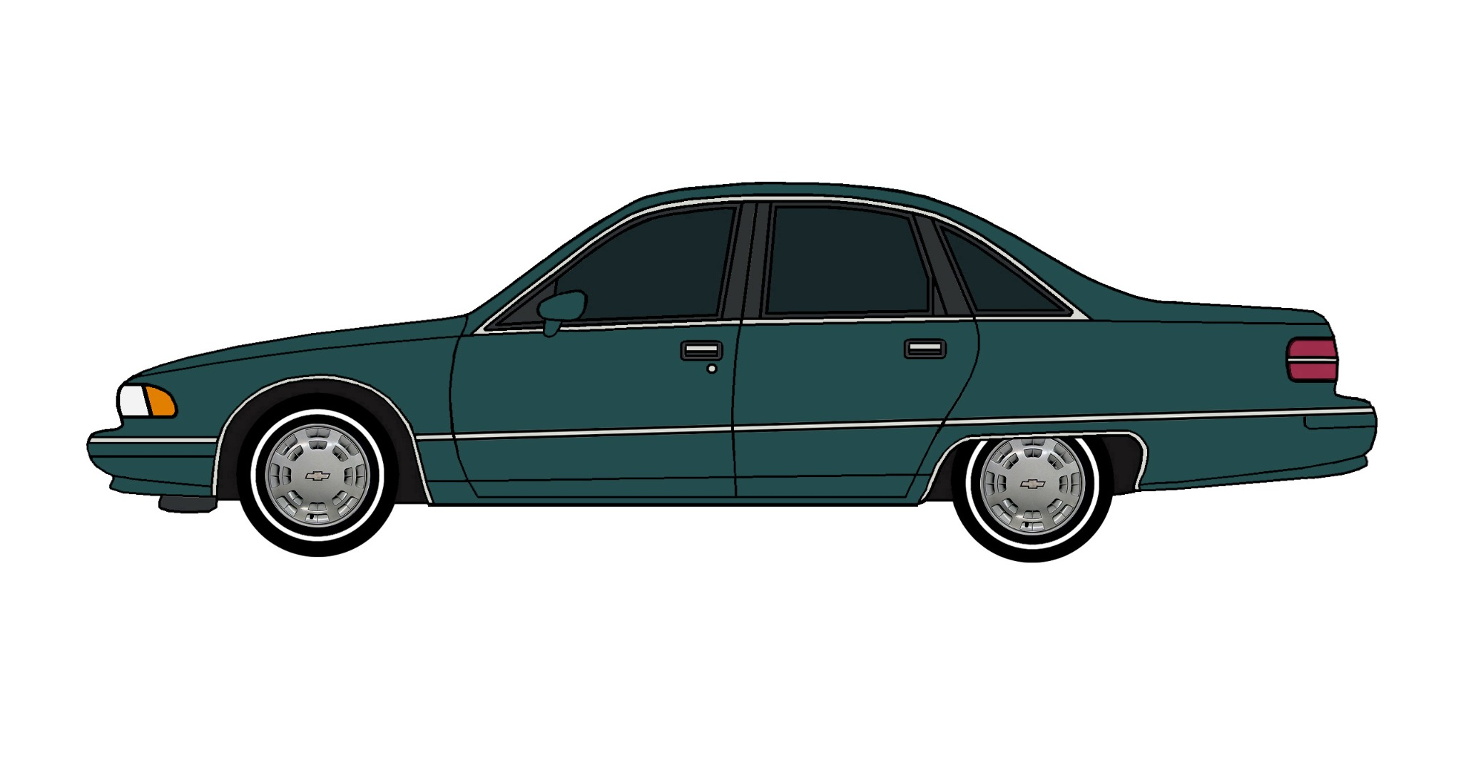 1991 Chevy Caprice TEAL