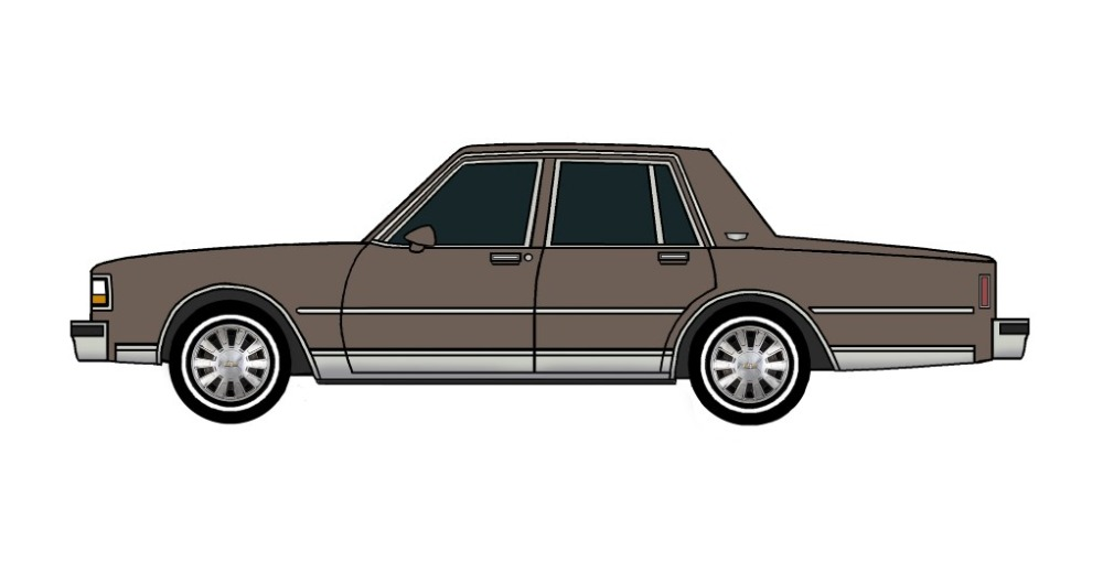 1988 Chevy Caprice FRENCH GREY