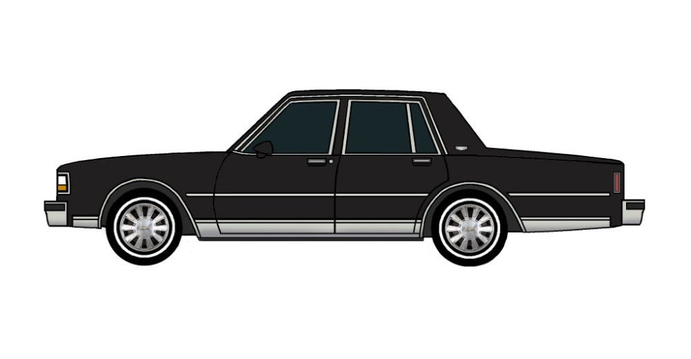1988 Chevy Caprice BLACK