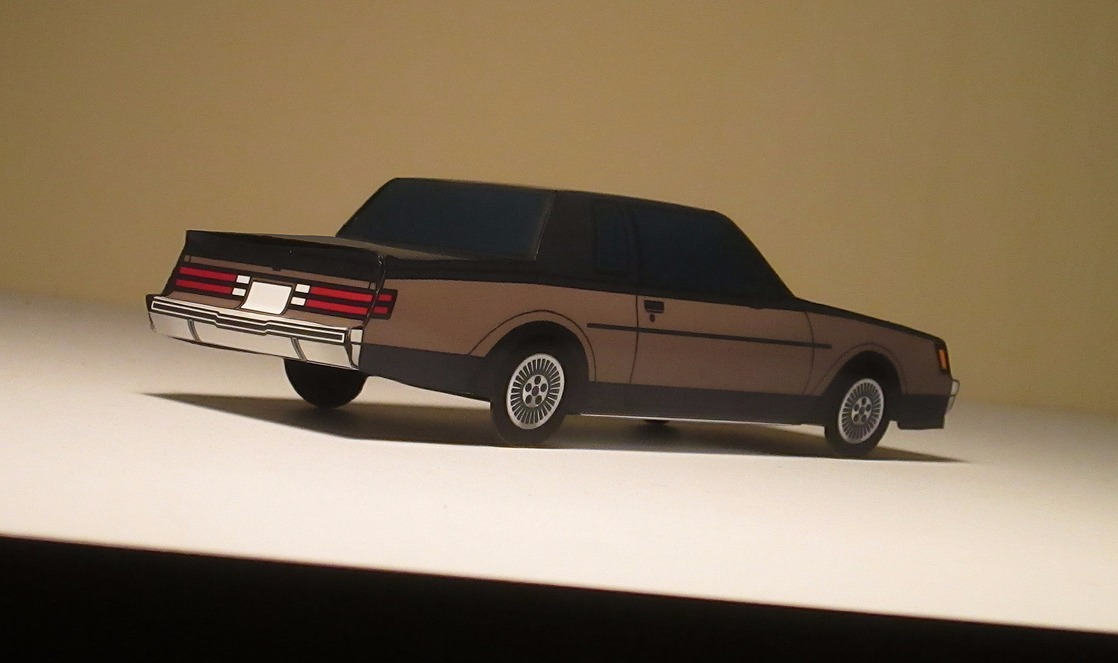 1985 Buick Regal T-Type BLACK & CLAY ROSE