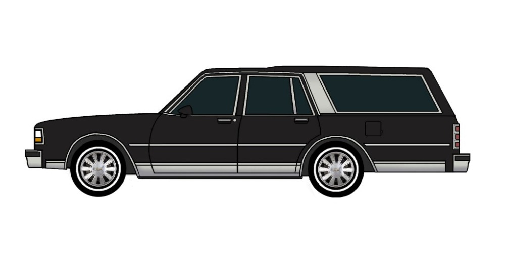 1988 Chevy Caprice Wagon BLACK