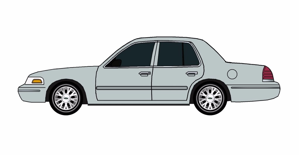 2005 Ford Crown Victoria SLATE GREY