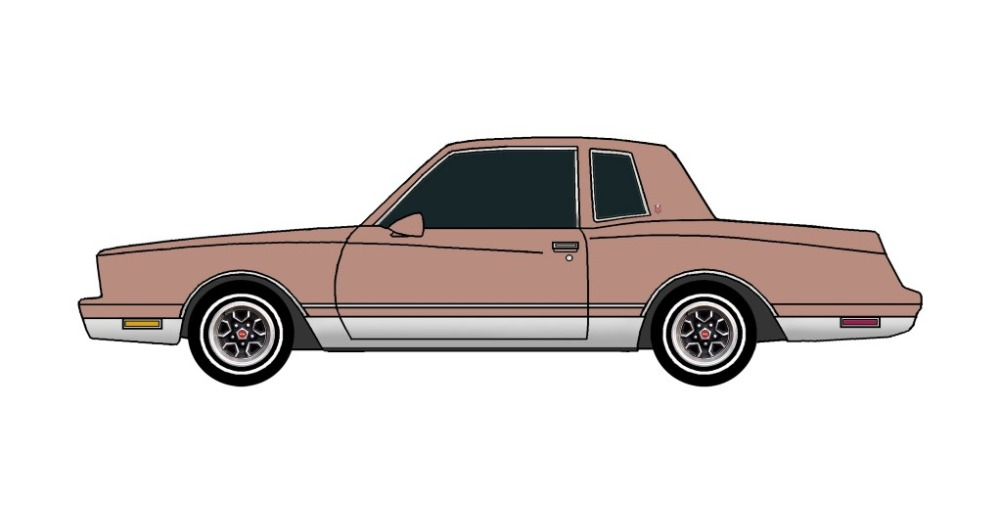 1981 Chevy Monte Carlo CLAY ROSE