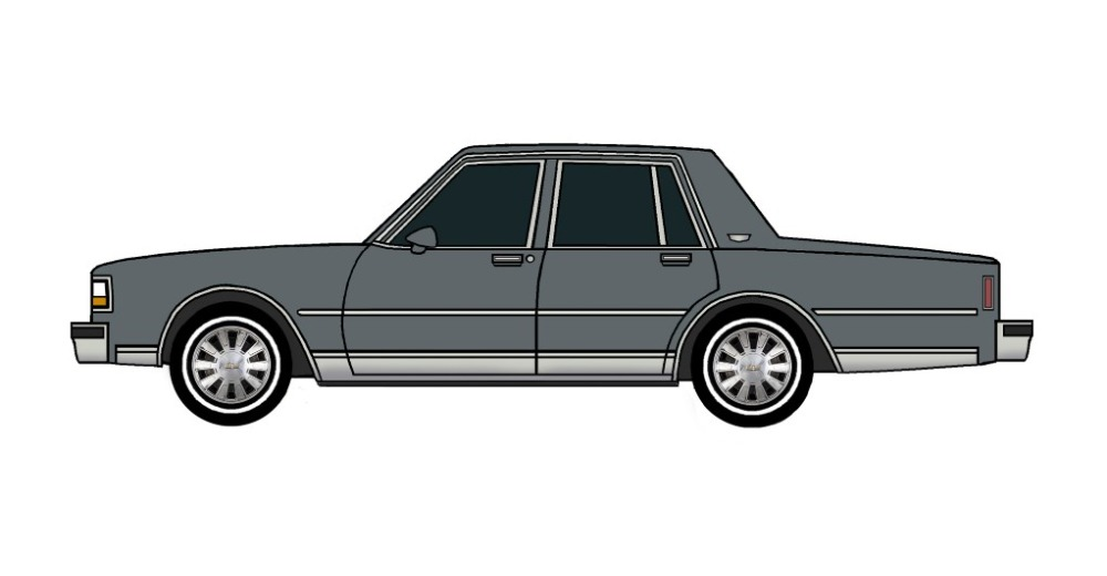 1988 Chevy Caprice CHARCOAL