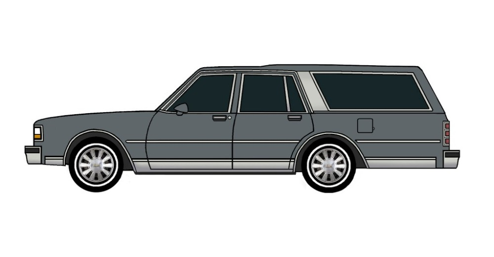 1988 Chevy Caprice Wagon CHARCOAL