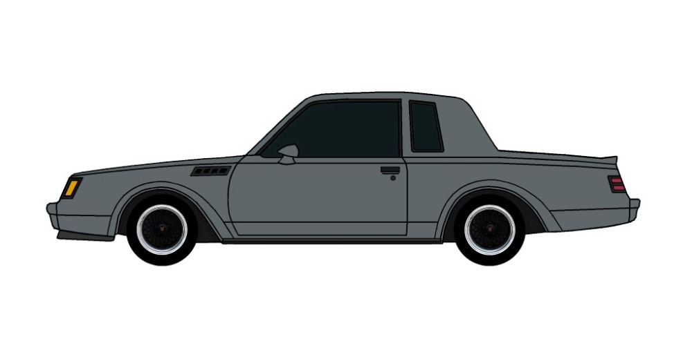 1987 Buick Grand National GNX CHARCOAL