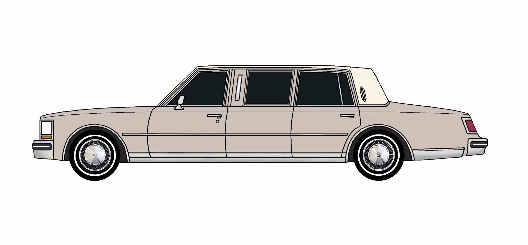 1978 Cadillac Seville Limo LAVENDER