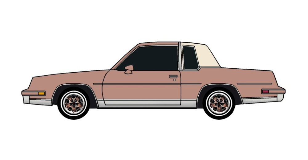 1984 Oldsmobile Cutlass CLAY ROSE