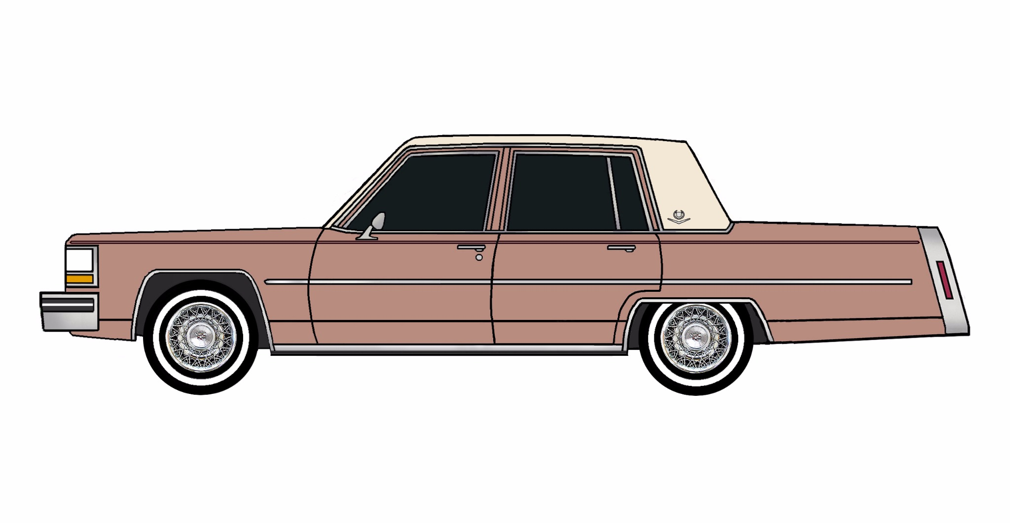 1980 Cadillac Deville CLAY ROSE