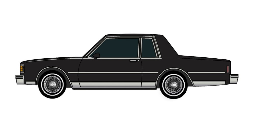 1980 Chevy Caprice Coupe BLACK