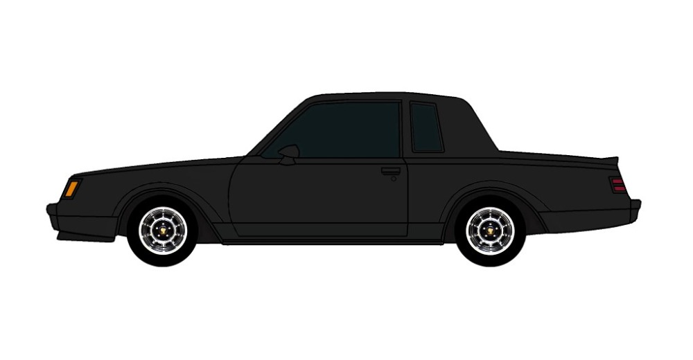 1987 Buick Grand National BLACK