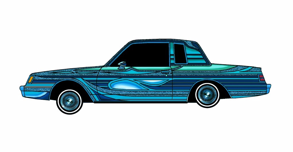 1985 Buick Regal LOWRIDER Midnight Blue