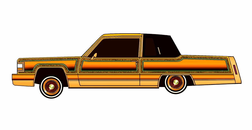 1984 Cadillac Fleetwood Coupe LOWRIDER Solar Destiny