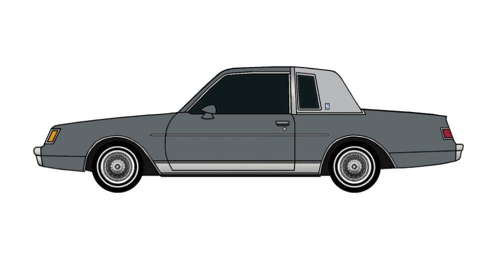 1981 Buick Regal CHARCOAL