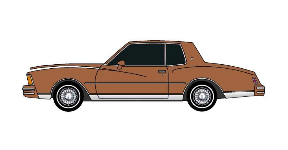 1978 Chevy Monte Carlo SIENNA BROWN