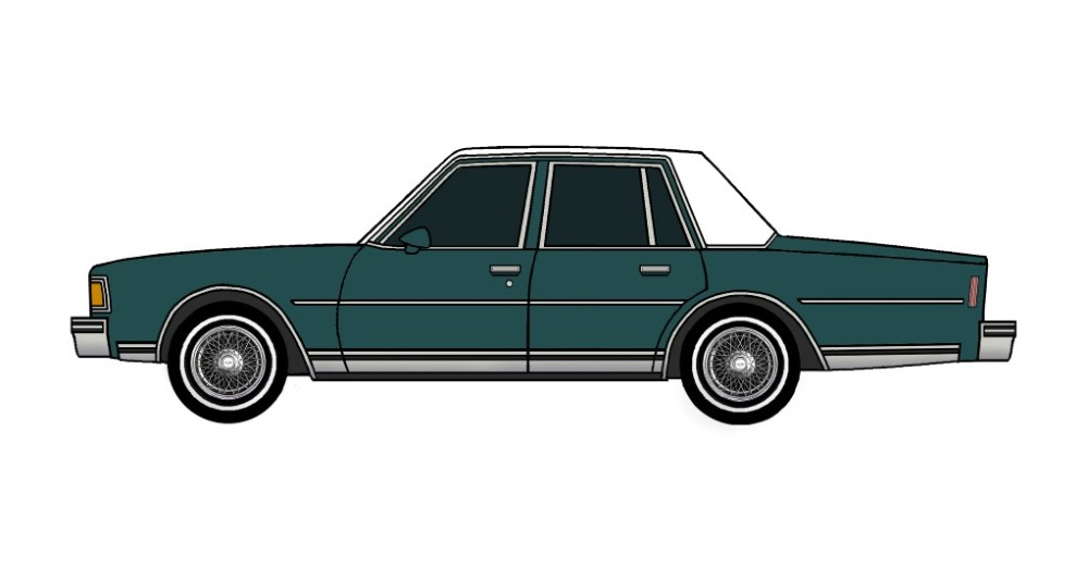 1978 Chevy Caprice TEAL