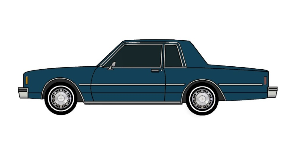 1981 Chevy Impala Coupe MIDNIGHT BLUE