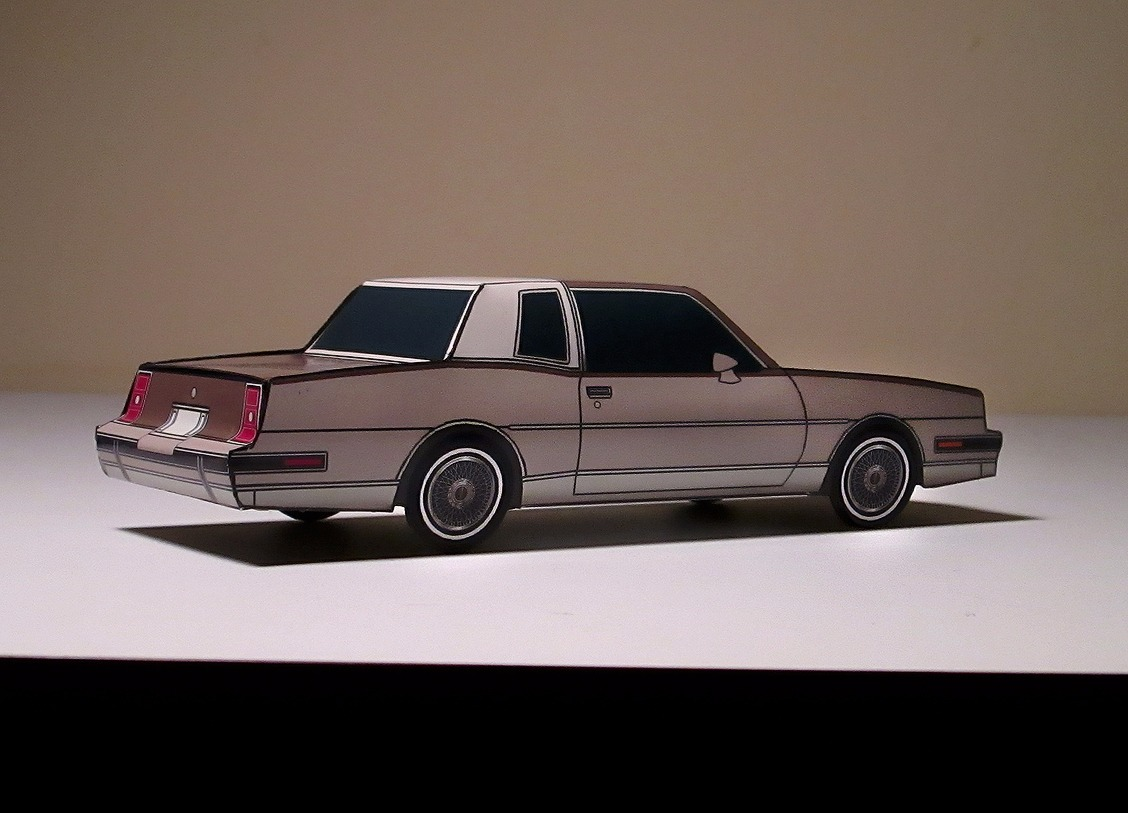 1986 Pontiac Grand Prix MIDNIGHT BLUE & PALE BLUE
