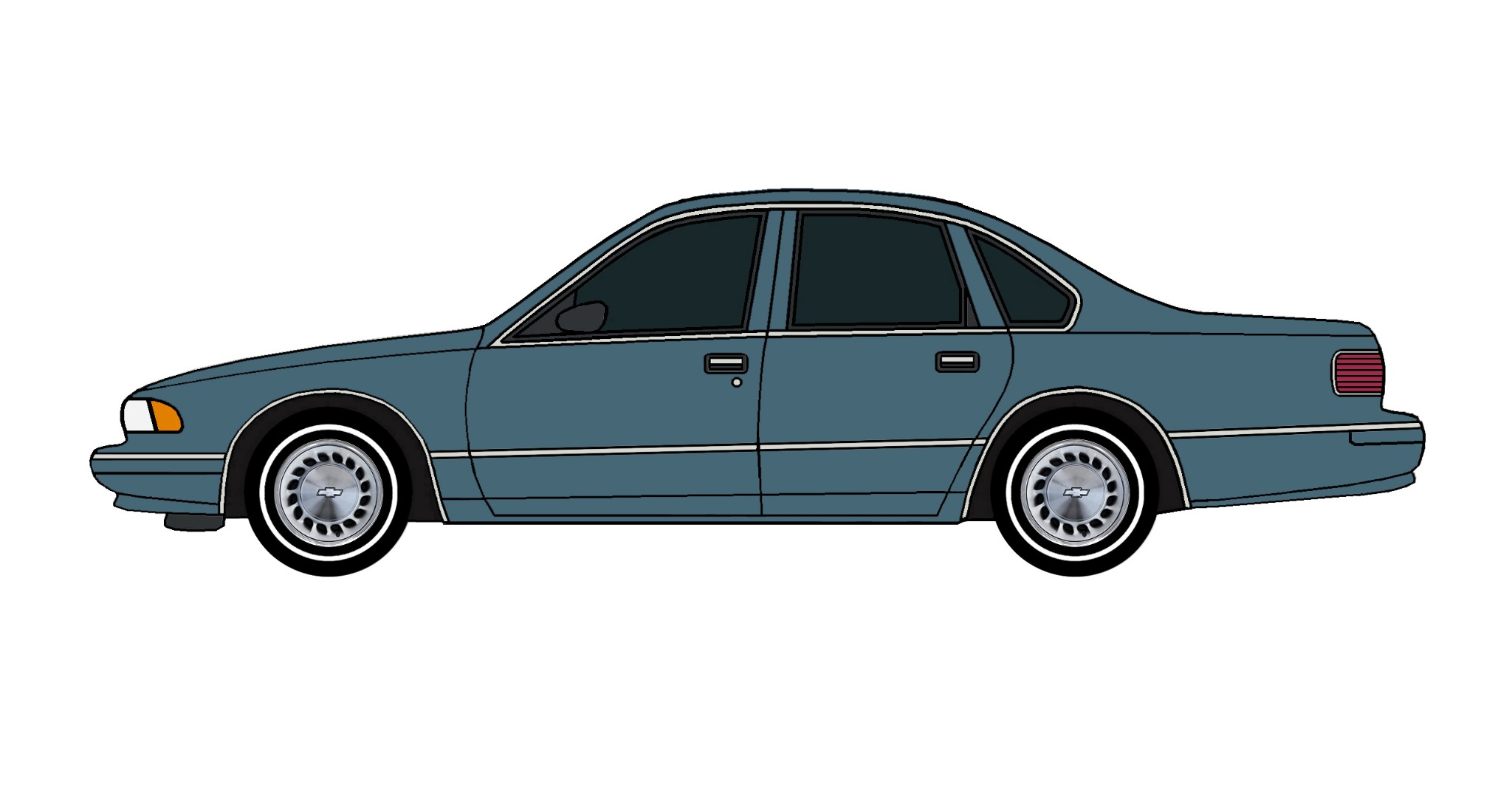 1996 Chevy Caprice BRITTANY BLUE