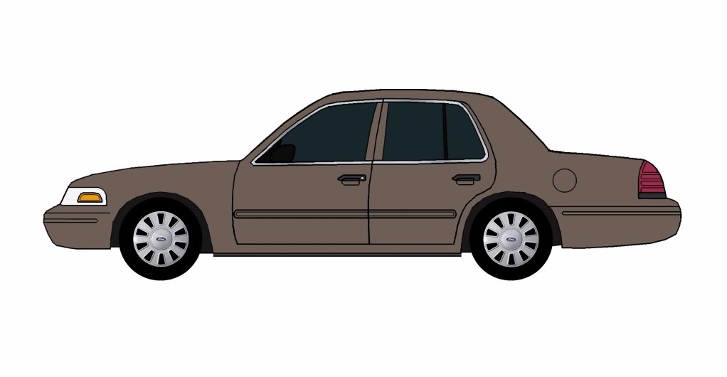 2007 Ford Crown Victoria FRENCH GREY