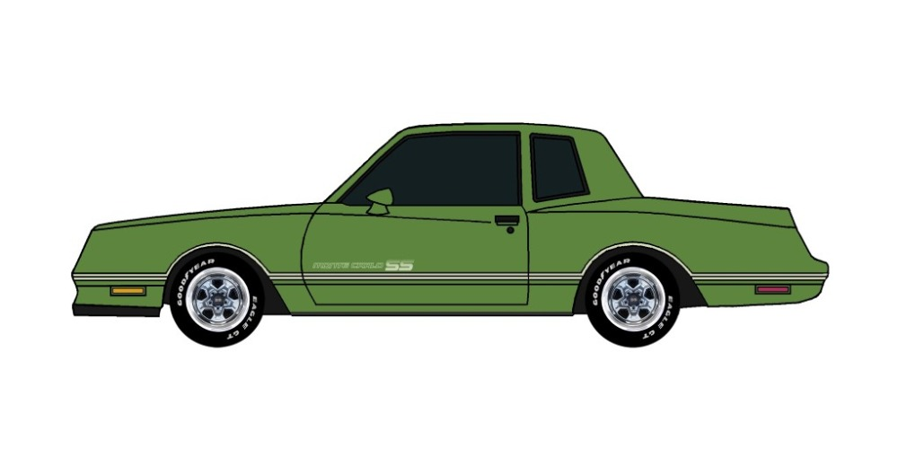 1984 Chevy Monte Carlo SS SUMMER GREEN
