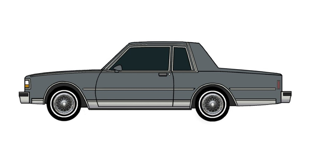 1987 Chevy Caprice Coupe CHARCOAL