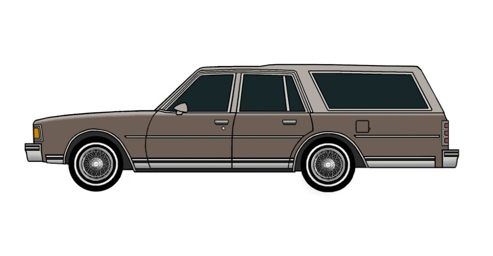 1978 Chevy Caprice Wagon FRENCH GREY