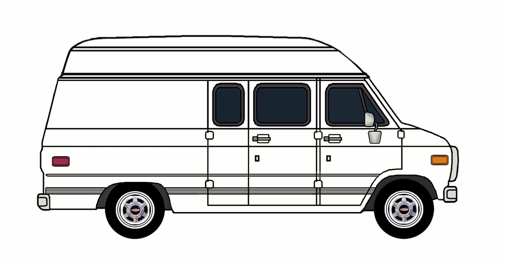 1985-96 Chevy G30 Van FREE MODEL