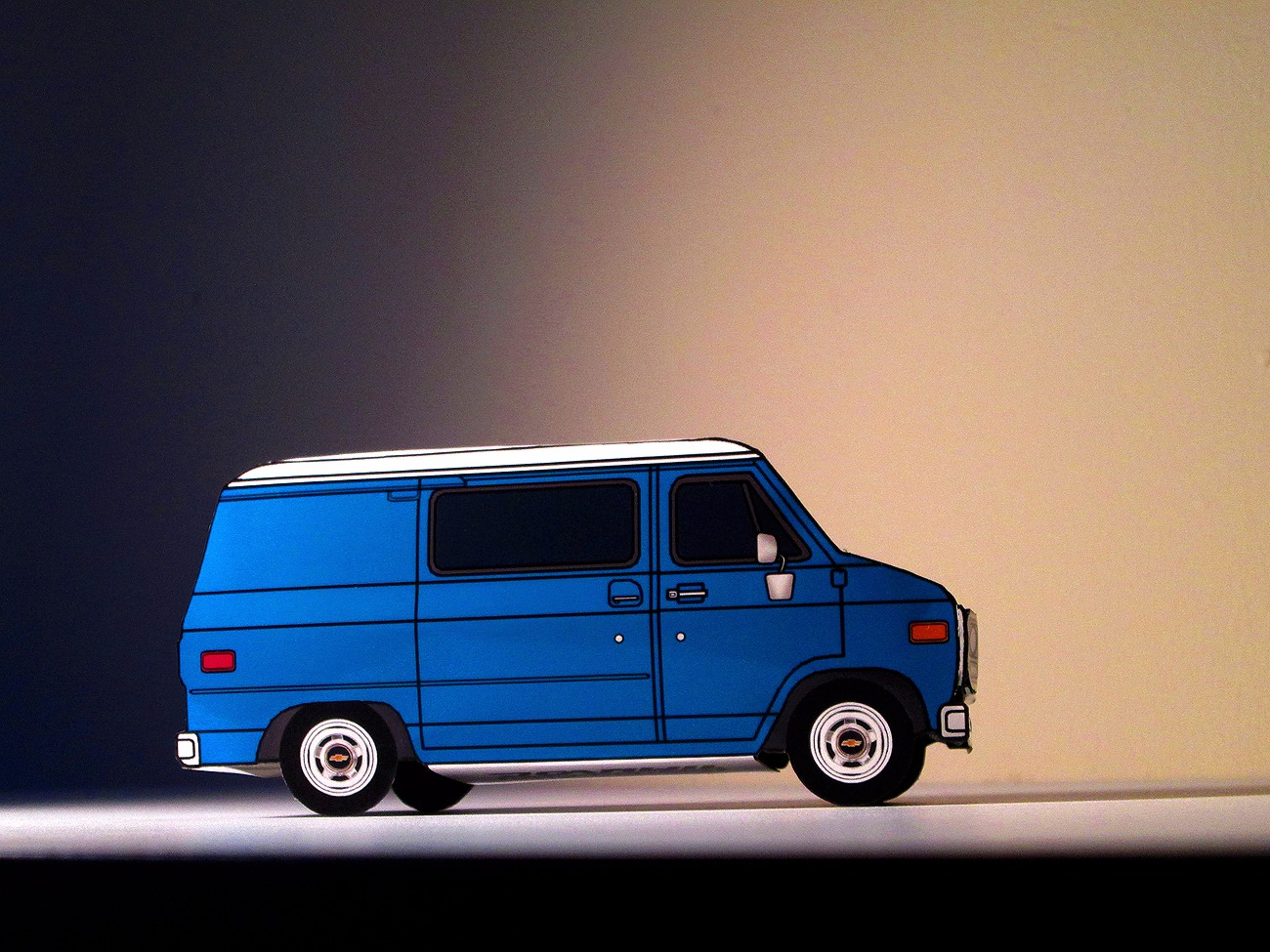 1978-82 Chevy G10 PALE BLUE