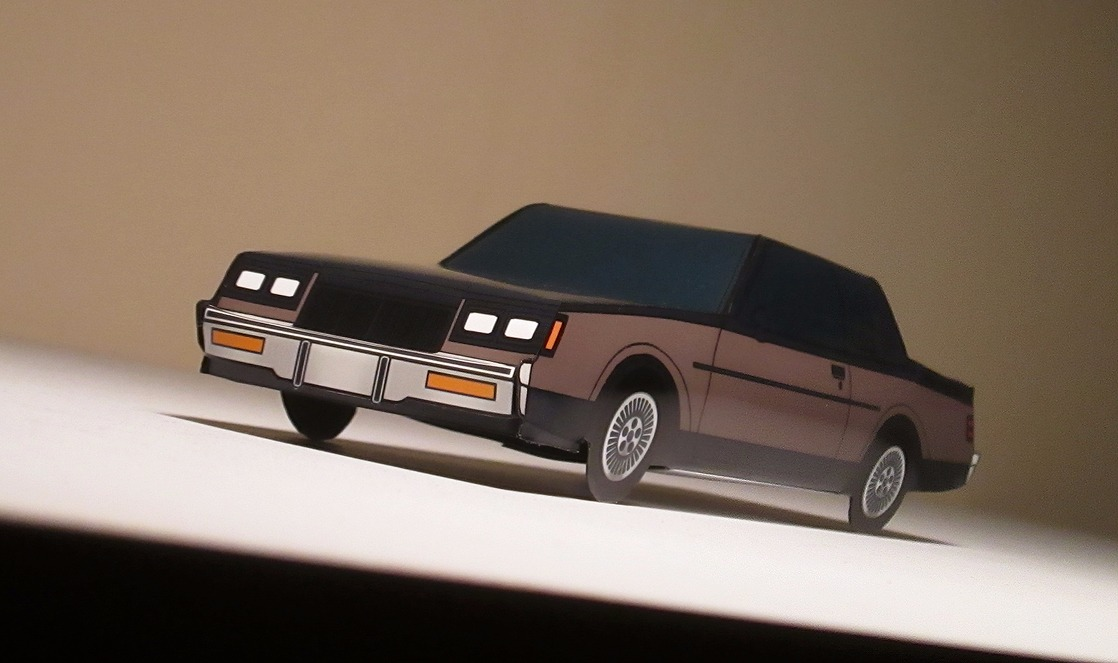 1985 Buick Regal T-Type BLACK & FRENCH GREY