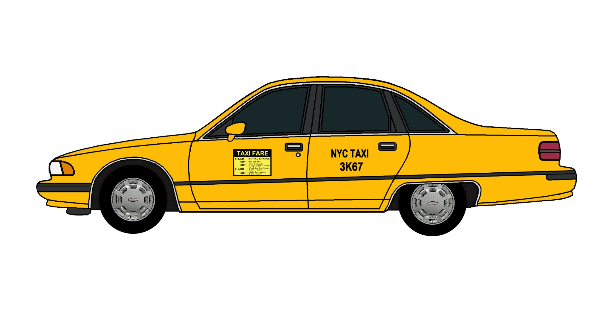 1991 Chevy Caprice NYC TAXI