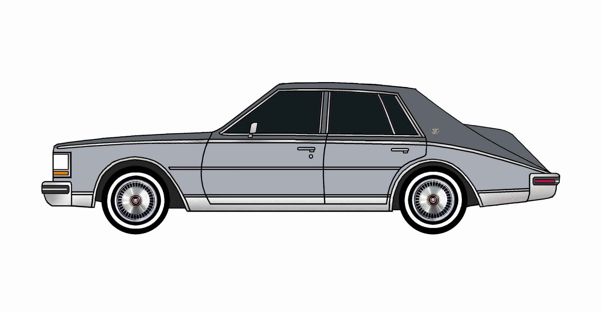 1980 Cadillac Seville CHARCOAL & LILAC GREY
