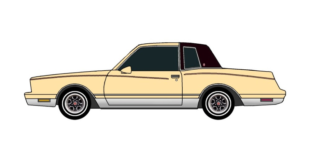 1981 Chevy Monte Carlo FRENCH VANILLA