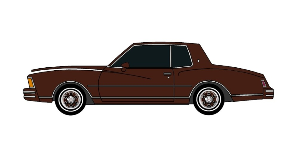 1978 Chevy Monte Carlo CHOCOLATE