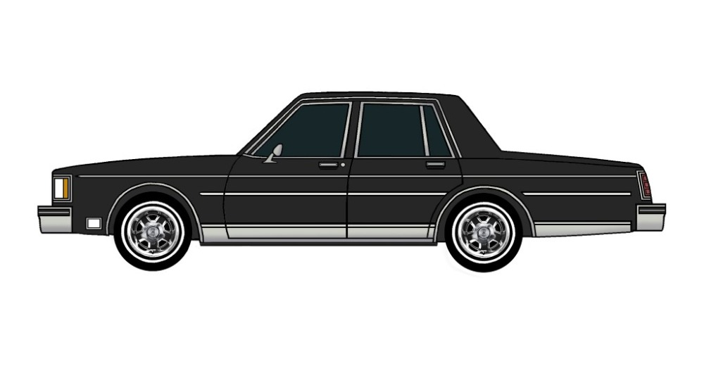 1983 Oldsmobile Delta 88 BLACK