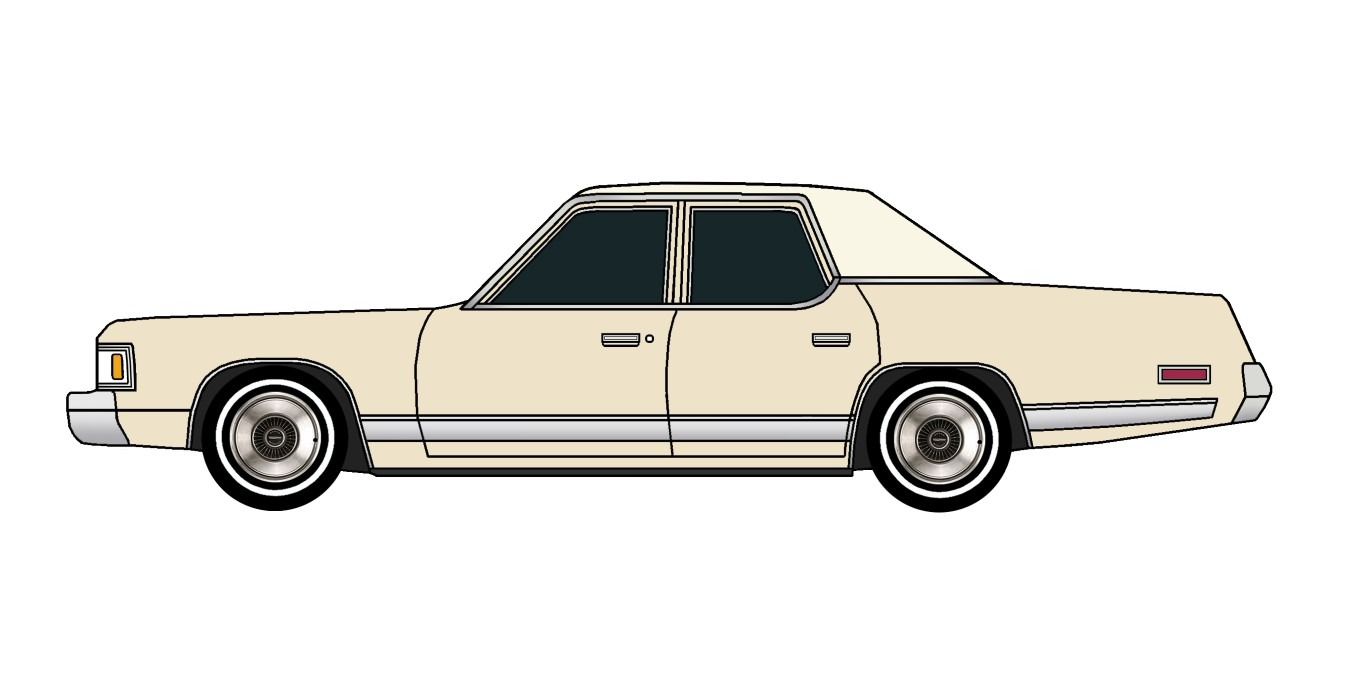 1977 Dodge Royal Monaco BEIGE
