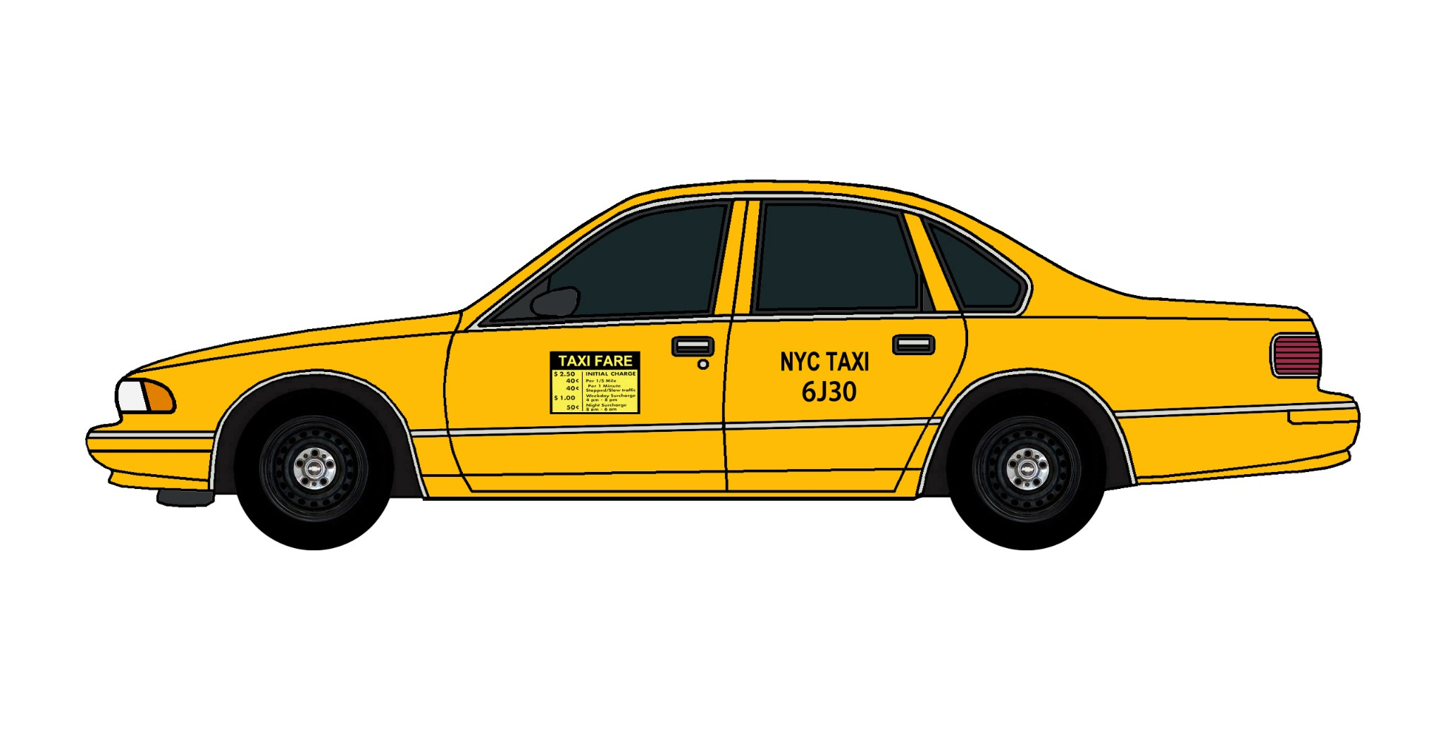 1995 Chevy Caprice NYC TAXI