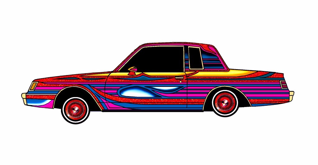 1985 Buick Regal LOWRIDER Majestic Lights