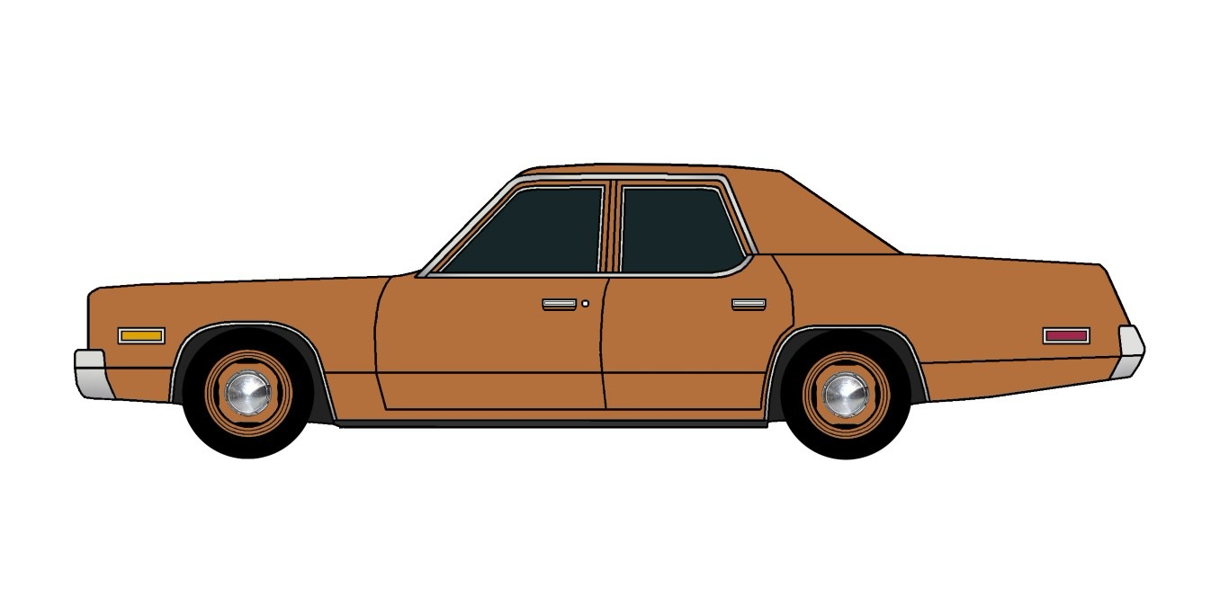 1974 Plymouth Fury COPPER