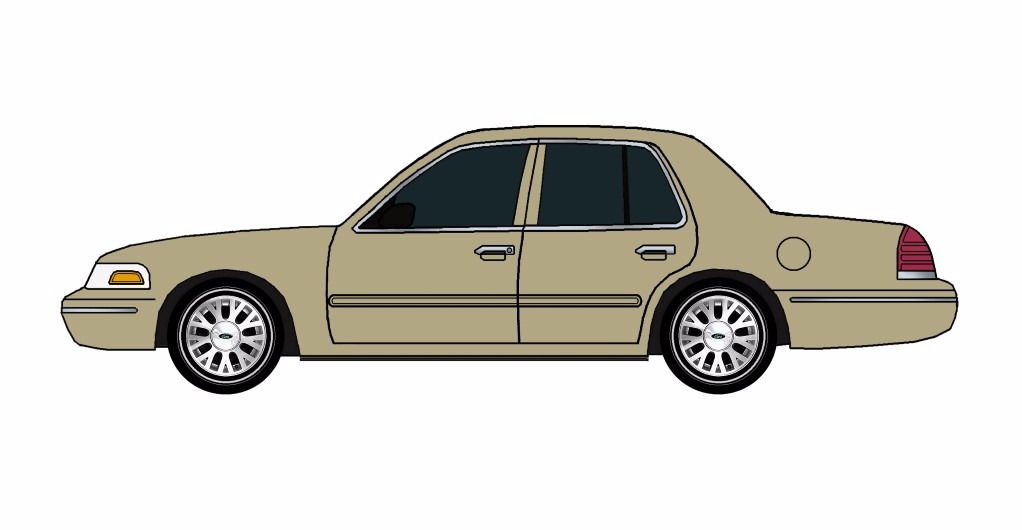 2005 Ford Crown Victoria TAUPE
