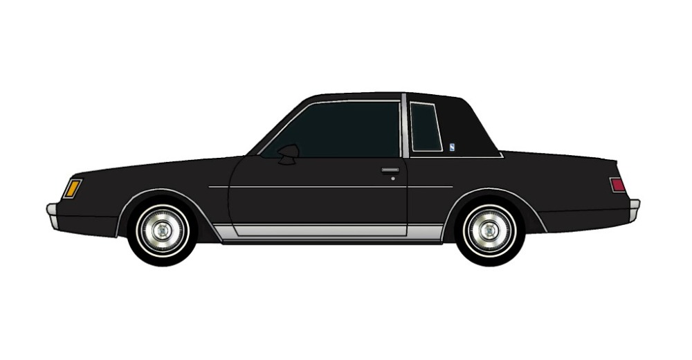 1982 Buick Regal BLACK