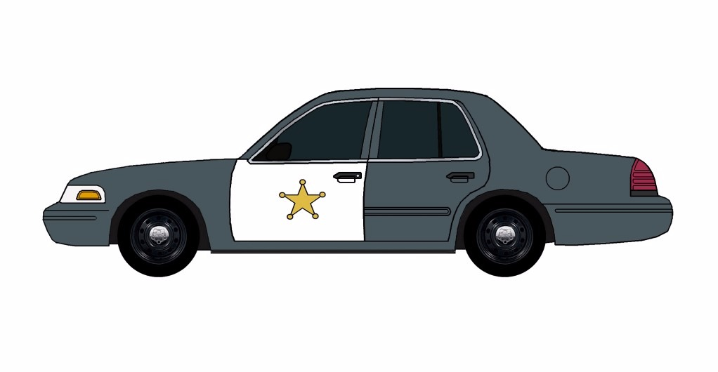 2011 Ford Crown Victoria Police Car CHARCOAL