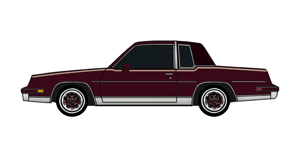 1981 Oldsmobile Cutlass MAROON