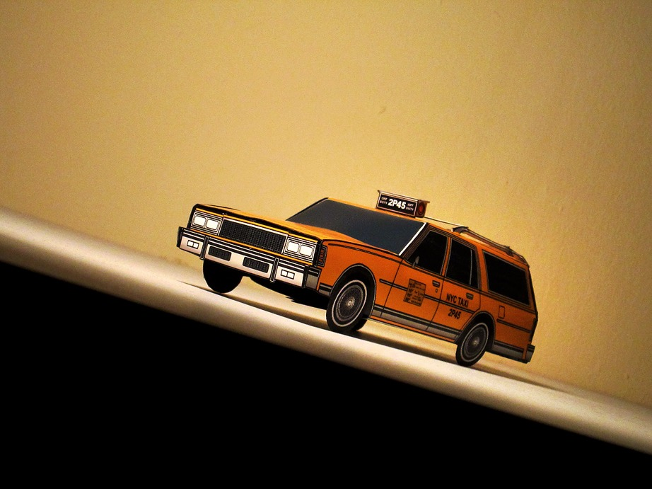 1979 Chevy Caprice Wagon NYC Taxi