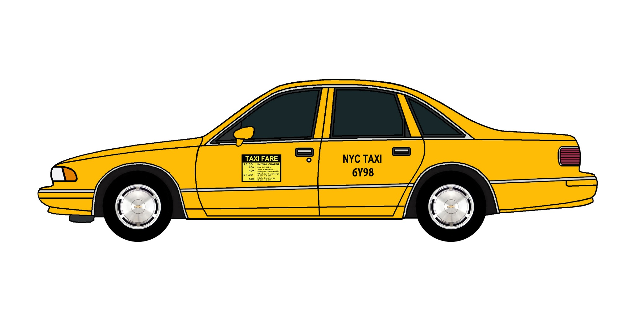 1994 Chevy Caprice NYC TAXI