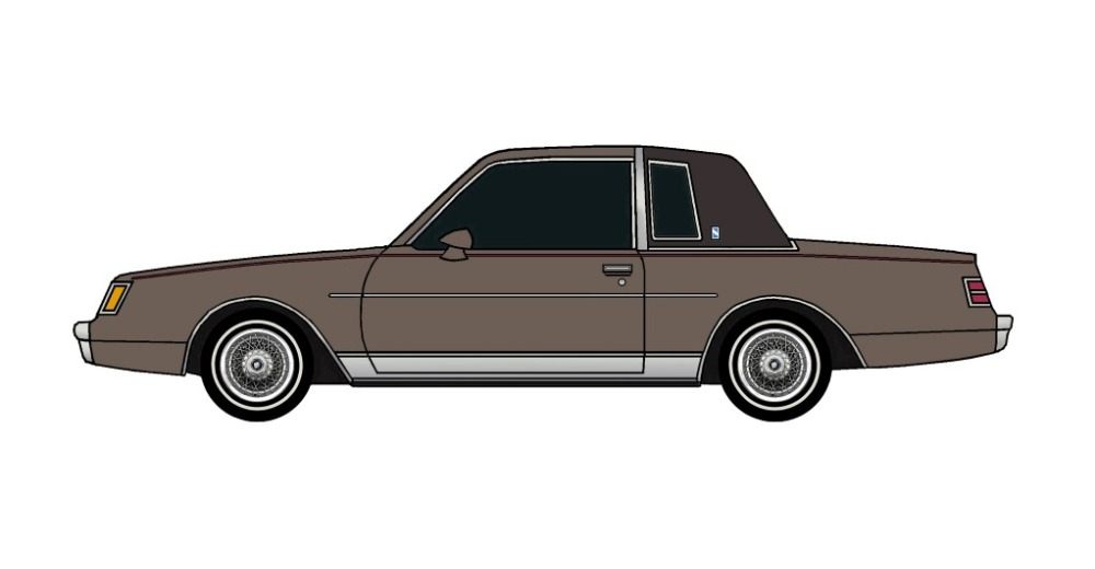 1985 Buick Regal FRENCH GREY